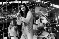 Steve Perry Of Journey At Comiskey Park Old Music Photo 3