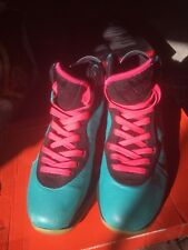Nike Lebron 8 Pre Heat/South Beach Size 7