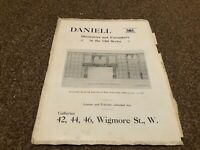 "(MCBK03) ANTIQUE ADVERT 11X8"" DANIELL : OAK ROOM FROM THE MANOR HOUSE OULTON"