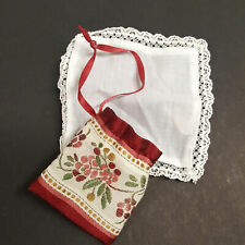 American Girl Felicity Purse and Handkerchief Historical Pleasant Co (A05-23)