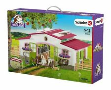 Schleich 42344 Horse Riding Centre With Rider and Horses