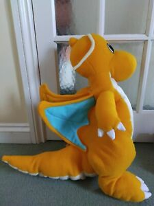 Pokémon Jumbo Dragonite Plush Soft Toy Simba Toys Vintage 2000 Rare