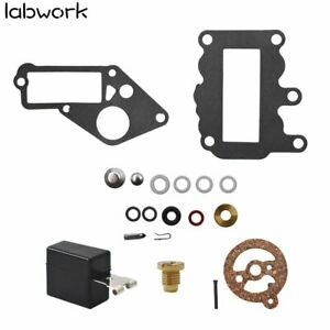 New Carb Kit w/Float For Johnson Evinrude Outboard 9.5 BRP/OMC Carburetor 382048