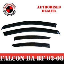 Weathershields Weather shields for Ford Falcon BA BF Sedan model Window Visors