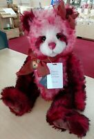2019 Charlie Bears Isabelle Mohair Collection FLAMENCO Limited Edition 36/250