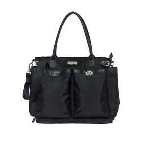 Mothercare Violet Carryall Classic Black changing bag   Brand New