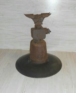 Alte Hoflampe, Industrielampe, Fabriklampe, Hängelampe, Emailschirm
