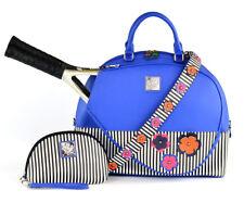 Court Couture Ella Tennis Bag in Blue Azure