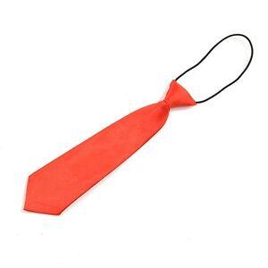 Boy Tie Kids Baby School Boy Wedding Necktie Neck Tie Elastic Solid 11 Colors J2