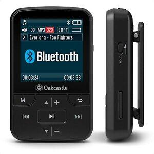 Oakcastle MP100 - Lecteur MP3 avec Micro SD, Bluetooth, Batterie Longue durée