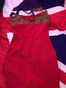 Rockabilly Alternative Wiggle Dress Poison Candy XL