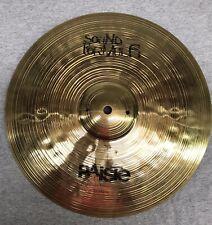 "Paiste Sound Formula 13"" Medium Heavy Bottom Hi Hat Cymbal Nice Shape and sound"
