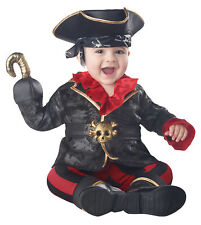 California Costumes Pirate Of The Crib-Ian Infant Costume, Black/Red, 6-12Mo