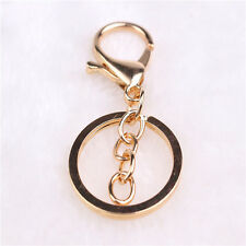 Gold Lobster Clasps Swivel Trigger Clips Hooks Bag Key Ring Charms Findings Hot