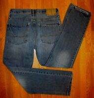 AMERICAN EAGLE OUTFITTERS RELAXED STRAIGHT Mens Blue Jeans EUC 29 x 31 (32) #337