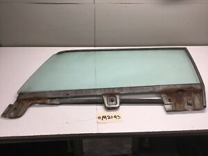 1967 MERCURY COUGAR XR7 DRIVER SIDE LEFT LH DOOR WINDOW GLASS TINTED