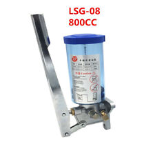 1X Manual Grease Pump Unit LSG-08 Machine Mount Hand Punch oiler Tool 800CC