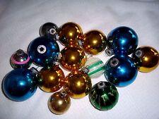 Lot of 15 Vintage Shiny Brite Christmas Tree Ornaments
