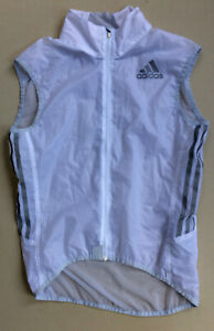 adidas lightweight windproof cycle gillet - small - NEW