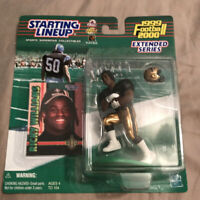 NIB 1999 2000 Rookie Extended Series Starting Lineup NFL Ricky Williams RARE