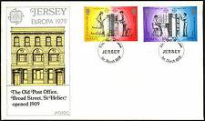 JERSEY 1979 EUROPA, Old POST OFFICE FDC PRIMO GIORNO DI COPERTURA #C42329