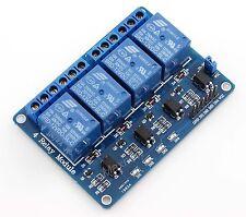 4 Canales 12v módulo de relés tarjeta de interfaz Optoacoplador Lm2576 fuente de alimentación Pic