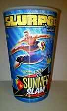 WWE SUMMER SLAM JOHN CENA WRESTLE-MANI 7-11 32oz. Slurpee Hologram Wrestling cup