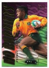 1996 Futera Rugby Union NO BARRIERS (NB3) George GREGAN Sample