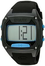 NEW Freestyle Unisex 10025776 Shark Tooth Digital Display Japanese Quartz Black