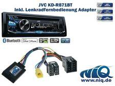 JVC KD-R871BT inkl. Lenkrad Fernbedienung Adapter Renault verschiedene Modelle b