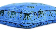 "35"" Elephant Extra Large Floor Cushion Pillow Cover Square Pet Dog Bed Cover"