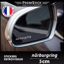 Kit 3 Stickers Retroviseur Voiture Nurburgring ref1; Auto autocollant retro