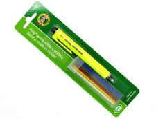 Koh-I-Noor S128 Clutch Pencil with Tailor's Chalks : 6 Colours included , New