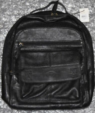 Fossil-Backpack-Bag-Leather-Cowhide-Durable-Laptop-Tablet-Adjustable Straps-New