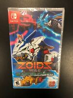 Zoids Wild Blast Unleashed Nintendo Switch Brand New Factory Sealed Complete CIB