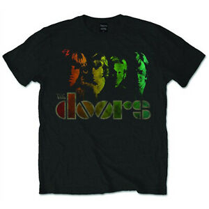 The Doors Rainbow Jim Morrison Rock Official Tee T-Shirt Mens Unisex