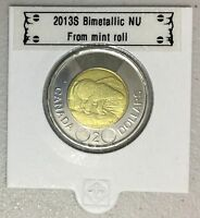 CANADA 2013 New 2 dollar TOONIES (BU directly from mint roll)