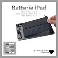 batterie neuve pour iPad 1/2/3/4/5/6/ Mini /Air / Pro 9.7 /12.9 QUALITE ORIGINAL