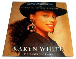 """KARYN WHITE - SECRET RENDEZVOUS 3 INCH CD SINGLE 1989 MINI 3"""""""