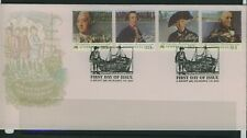 Australia 1986 Decision to Settle First Day Cover Apm17440