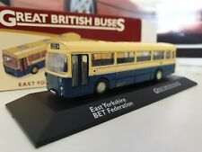ATLAS EDITIONS -  EAST YORKSHIRE -  BET FED  - 1/76.SCALE - GREAT BRITISH BUSES