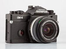 Olympus OM-4 Gehäuse Schwarz + Olympus Auto-W 2,8/28mm  SHP 64718