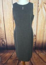PLANET Sz 14 Grey Shift Dress Pencil Fitted Lined Sleeveless Work/Business Wear