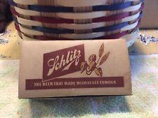Vintage Schlitz Beer Salt And Pepper Shakers 1952