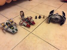 Star Wars Lego lot 3 vaisseaux inclus Dark Vador