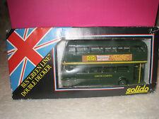 """SOLIDO SUPERBE BUS ANGLAIS """"GREEN LINE"""" neuf boite avec auto-collant a poser"""