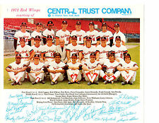 1972 ROCHESTER RED WINGS TEAM 8X10  PHOTO GARLAND WATTS  BASEBALL USA