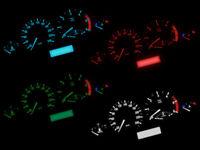 LED Tachobeleuchtung Farbig SMD LED Umbauset passend für BMW E46 E39 Z4 X3