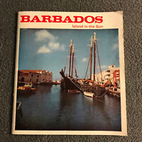 Vintage Barbados Island in The Sun Soft Cover Caribbean Travel Guide