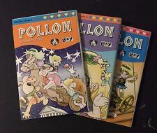 Pollon Hideo Azuma Lexy Produzioni lotto 3 volumi